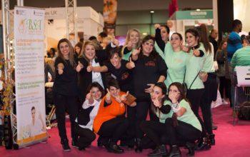 Grande successo della Scuola BSA a ROMA INTERNATIONAL ESTETICA 2018