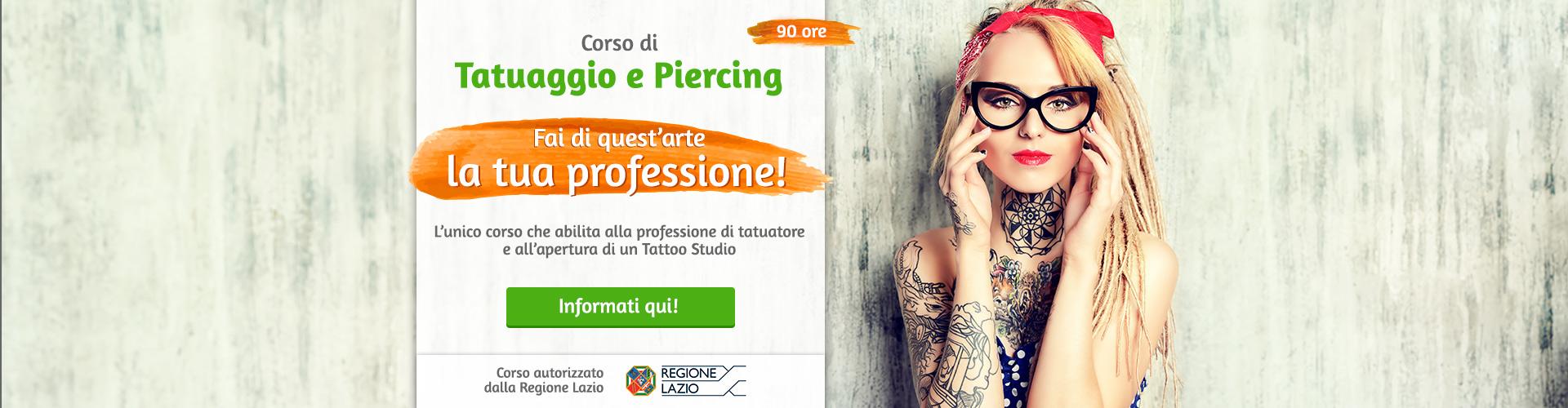 Corso Tatuaggio Roma